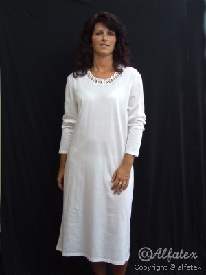 Nočná košela Renata krajka